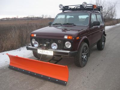 Снегоуборочный отвал для а/м ВАЗ 2121-31