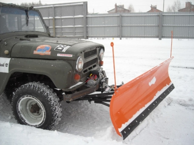 Снегоуборочный отвал для а/м УАЗ